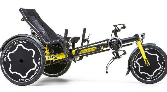 Happiness statt Handicap: TRIX, das Reha-Trike mit Fun-Faktor der Fa. Hase Bikes